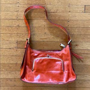 Hobo International red hobo handbag